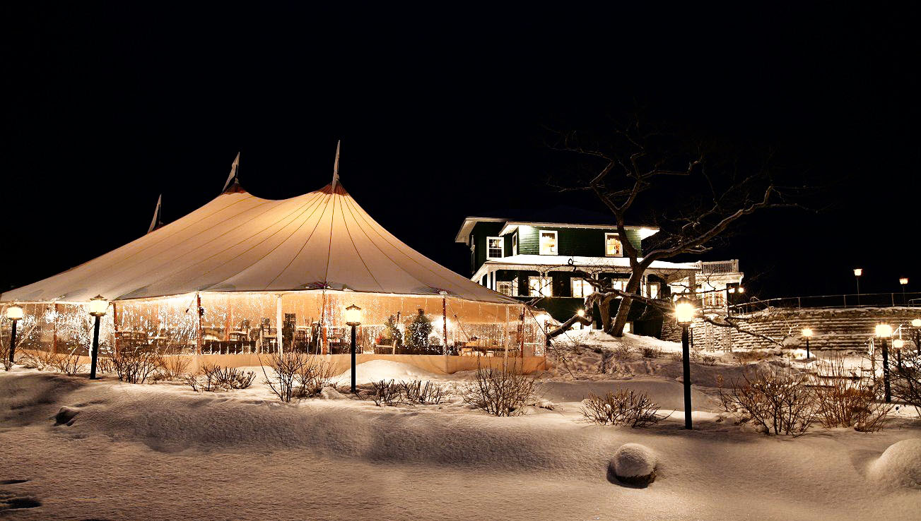 Image result for winter tent events
